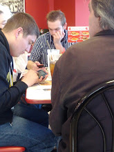 Photo: What's the point of dining with friends if you're glued to your phone the entire time?