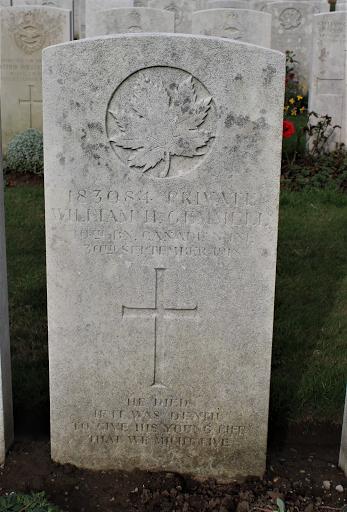 William Howard Gemmell grave