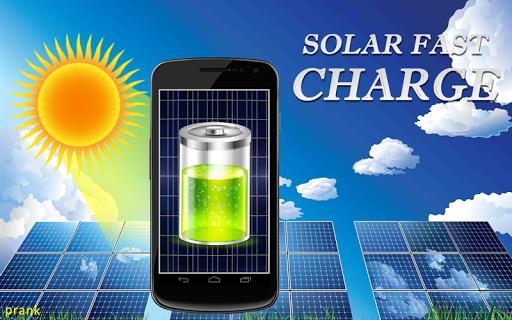 ソーラー充電器 - いたずら