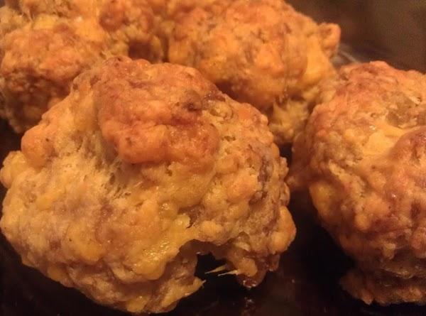 Sausage Cheese Puffs Recipe