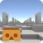 Cardboard Blocks VR Icon