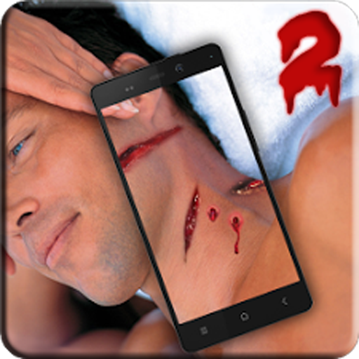 Bloody Wounds Photo PRANK