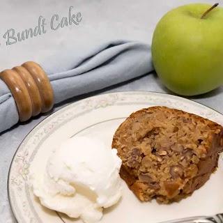Double Apple Bundt Cake (full recipe)