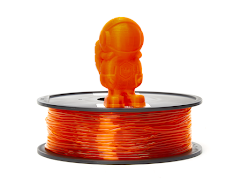 Translucent Orange MH Build Series TPU Flexible Filament - 1.75mm (1kg)