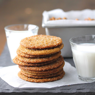 Molasses Ginger Cookies with Fresh Ginger, Vietnamese Cinnamon, and Sparkling Sugar Recipe