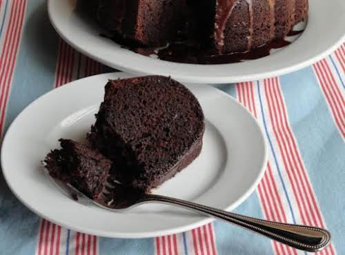 "Fudge Brownie Cake ""I tried this recipe on my brother and sister who..."