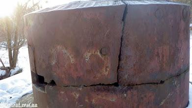 Photo: ДОТ 504 - бронеколпак.