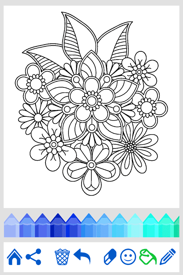 Mandala coloring for adults android apps on google play Coloring book for adults app