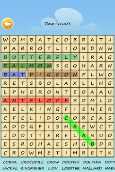 Word Search Puzzle apk screenshot