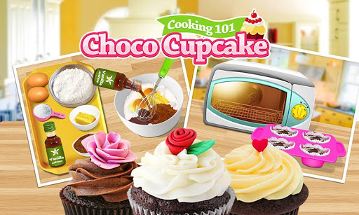 Cooking 101 - Choco Cupcake