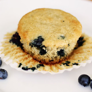 Almond-flour Blueberry Muffins