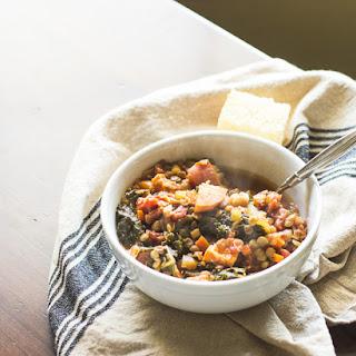 Thanksgiving Leftover Lentil Soup