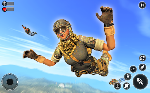 Unknown Battlegrounds Free Fire Squad : Survival 1 screenshots 7