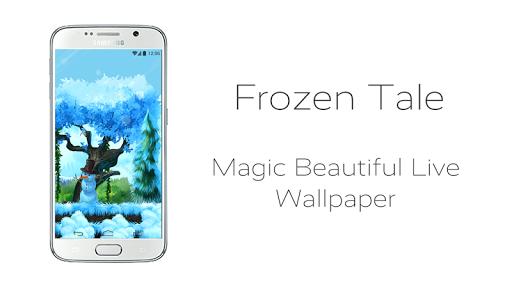 Frozen Tale Live Wallpaper