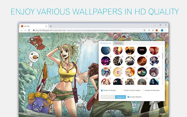 Fairy Tail Wallpaper HD Fairy Tail Anime New Tab | HD ...