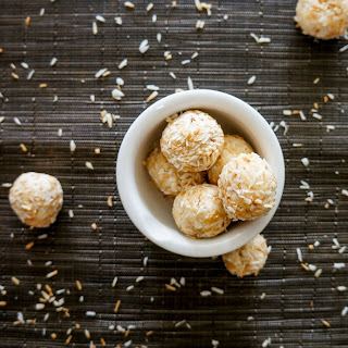 Almond and Coconut Truffles.