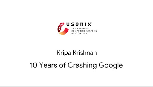 10 Years of Crashing Google