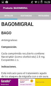 PR Vademécum Bagó screenshot 2