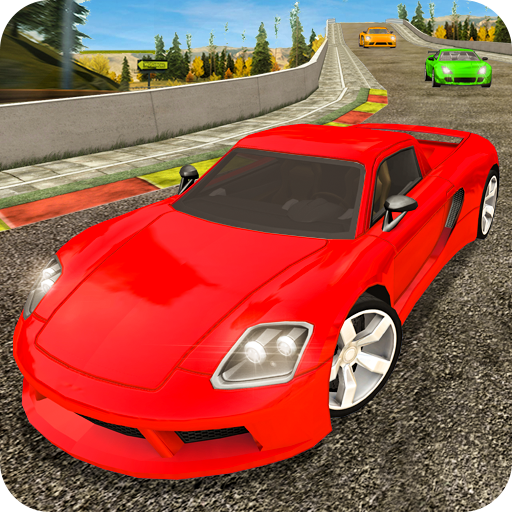 Driveway Car Racing 3D