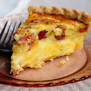 Brie and Bacon Quiche