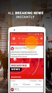 UK Breaking News & Local UK News For Free - náhled