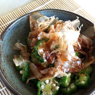 My Mom's Simple Japanese Okra