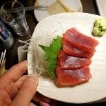 raw horse sashimi in Tokyo, Tokyo, Japan