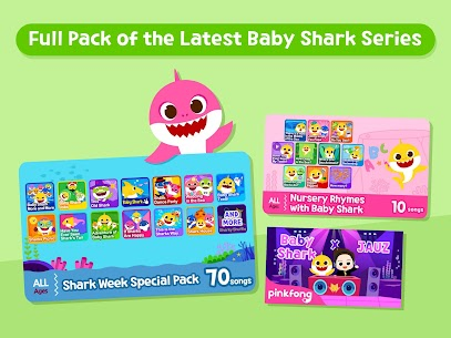 Baby Shark Best Kids Songs & Stories App Download For Android and iPhone 3