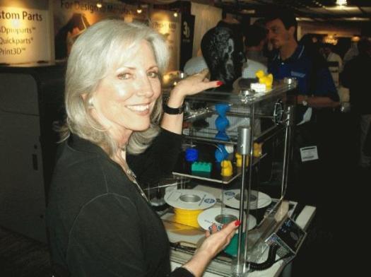 Влиятельные женщины в 3D-печати # 16: Кэти Льюис
