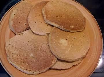 Steel Cut Oats Pancakes