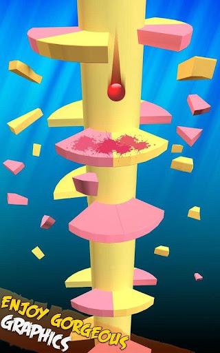 Spiral Balls Love Jump  captures d'écran 2