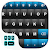 Blue Black Keyboard Theme file APK for Gaming PC/PS3/PS4 Smart TV