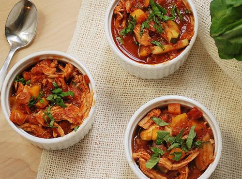 Slow Cooker Chicken Vegetable Soup Recipe