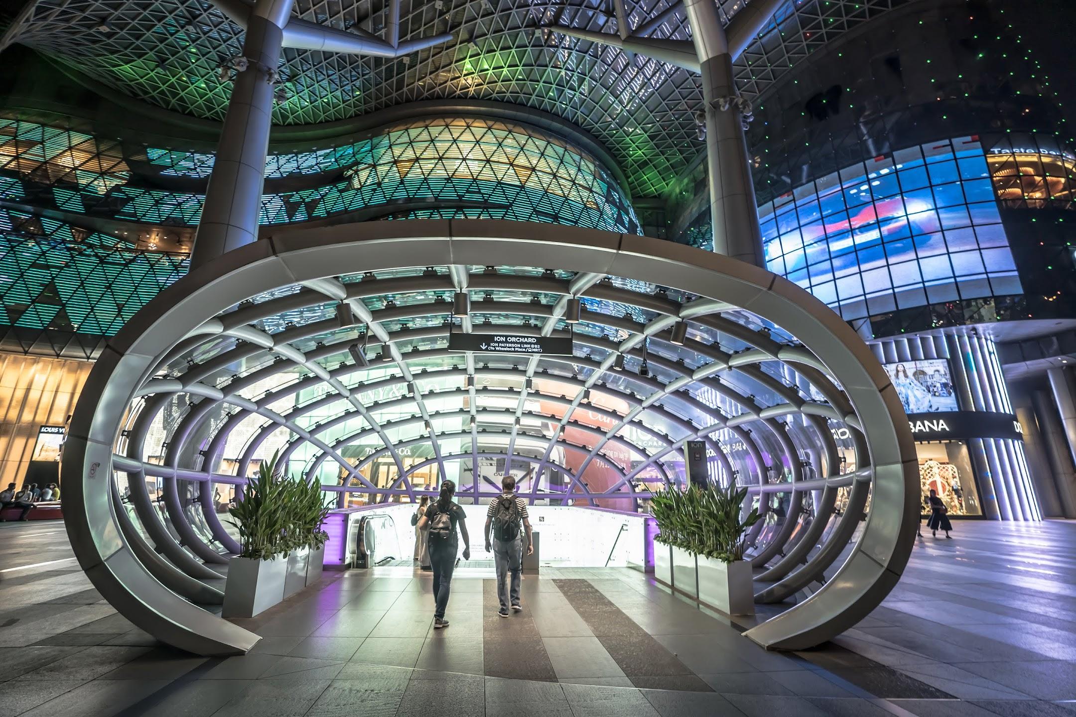 シンガポール ION Orchard2