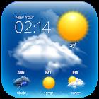 一週天氣預報,天氣時鐘小工具,降水預報,氣象資訊 icon