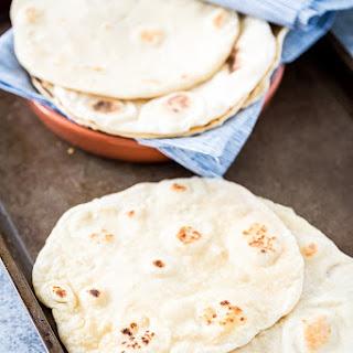 Easy, Homemade, Vegan & Yeast-Free Flatbread.