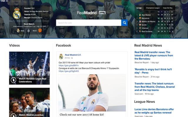 Real Madrid Monitor