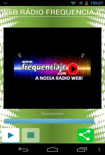 WEB RÁDIO FREQUENCIAJC