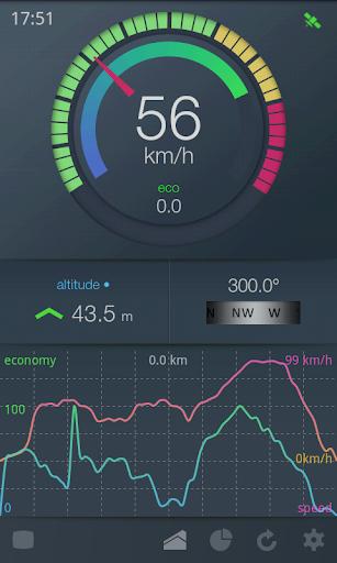EcoDrive Free Speedometer screenshot 2