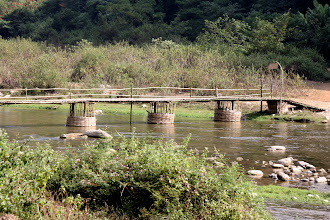 Photo: Day 243 - River Crossing (Laos)