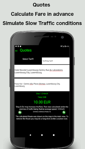 Taximeter-GPS 4.9.4.1 screenshots 5