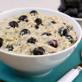 Blueberry Muffin Oatmeal.
