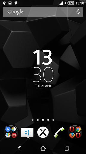 Theme eXPERIAnce Cubes Black