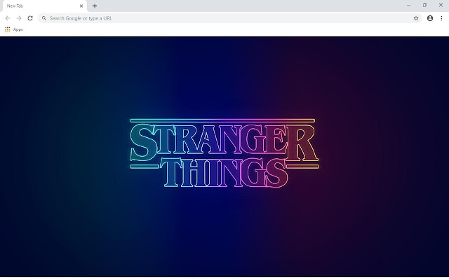 Stranger Things Wallpapers and New Tab