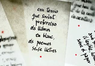 Photo: poemes sense lletres