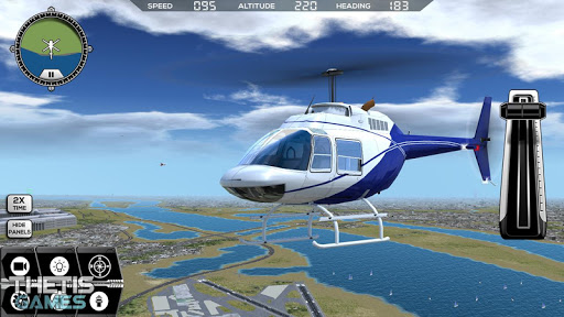 Flight Simulator 2017 FlyWings Free  screenshots 4