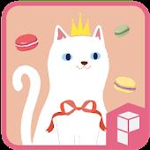 White Sweet Cat Theme