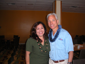 Photo: Alana Yamamoto - Manager at King Kamehameha's Kona Beach Hotel, and my hostess for the breakfast presentation.