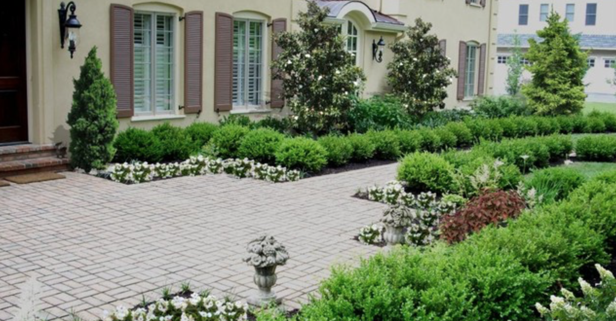 Formal Garden in Suburban Philadelphia