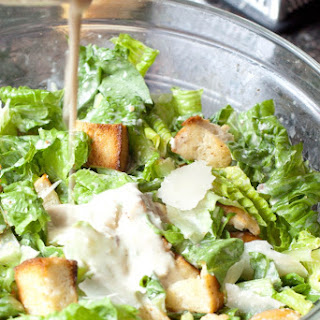 Easy Caesar Dressing From Scratch.